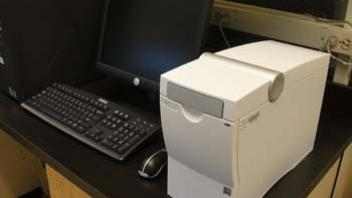 The Agilent Bioanalyzer The bioanalyzer's function is to determine the quality and quantity of RNA in low concentration samples.